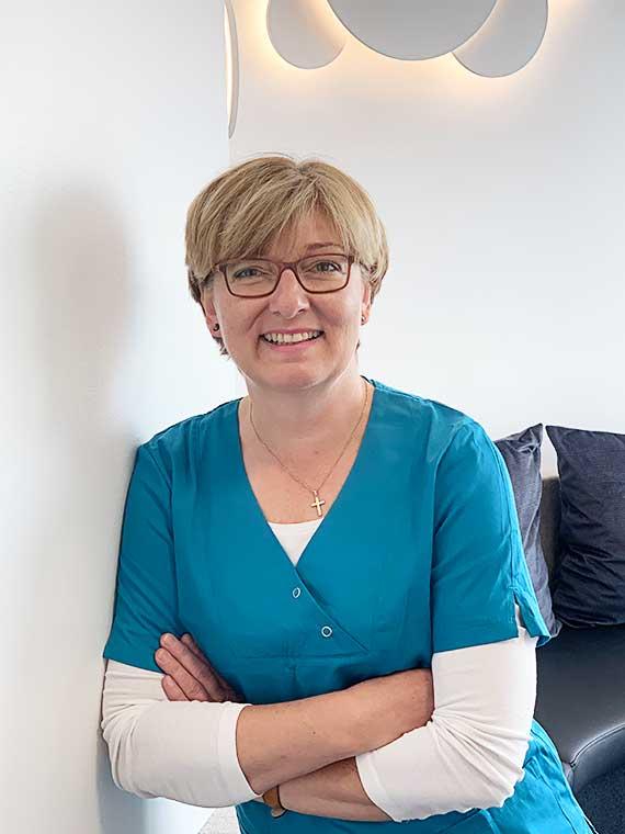 Christine Hämmerle, Medizinische Fachangestellte in der Praxis Dr. Mollemeyer & Kollegen