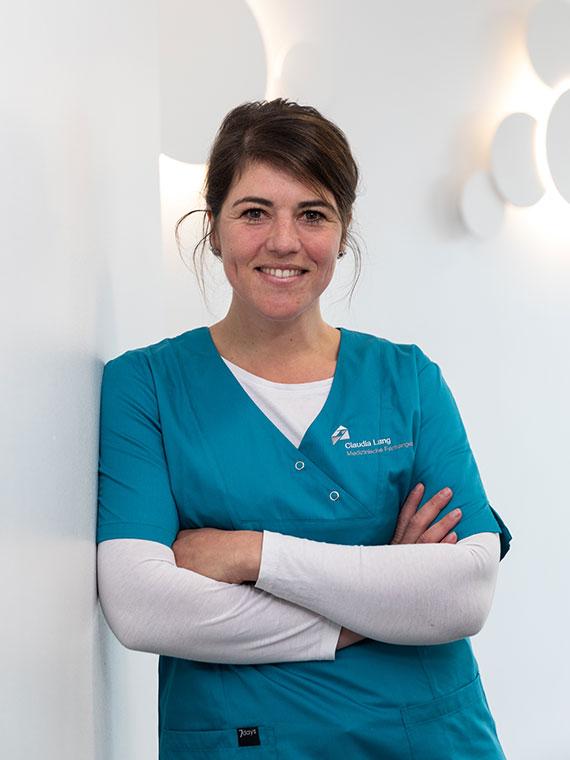 Claudia Lang, Medizinische Fachangestellte in der Praxis Dr. Mollemeyer & Kollegen