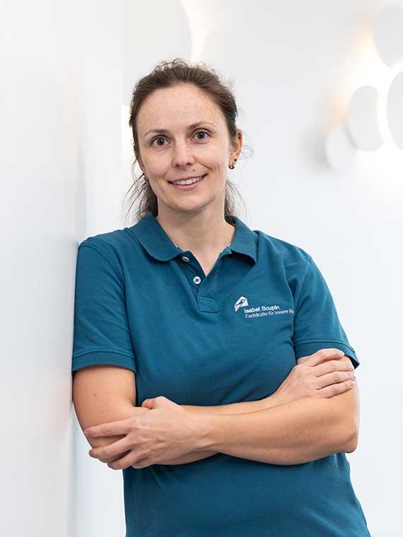 Ärzte im Ärztezentrum Lechfeld: Isabel Scupin, Fachärztin für Innere Medizin