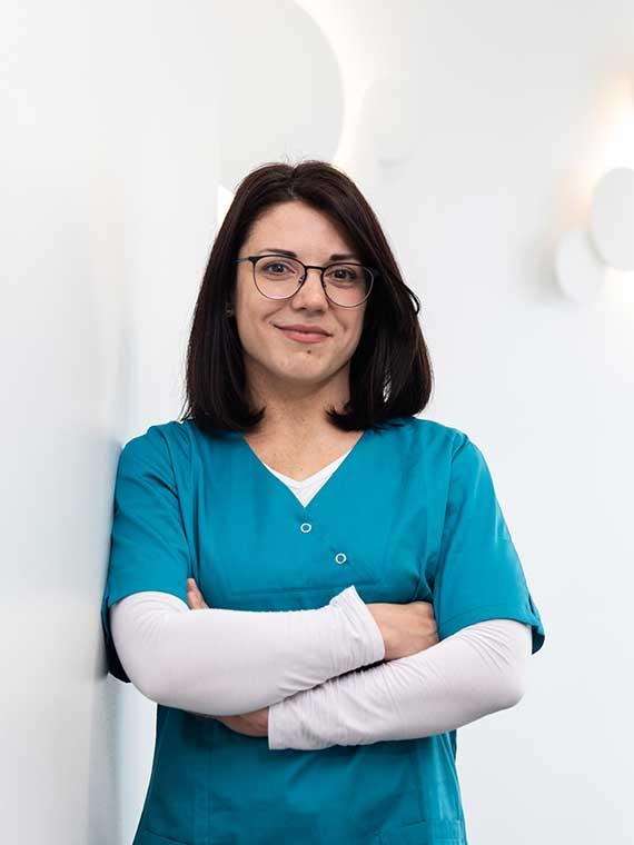 Tatjana Groß, Medizinische Fachangestellte in der Praxis Dr. Mollemeyer & Kollegen