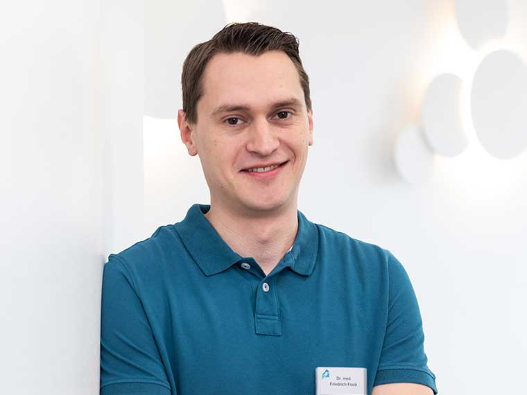 Neu im Team:Dr. med. Friedrich Frank