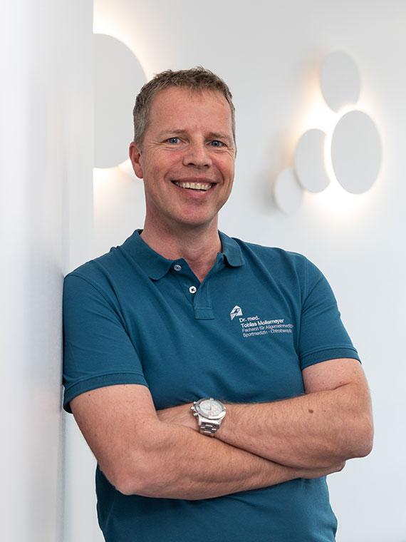 Ärzte im Ärztezentrum Lechfeld: Dr. Tobias Mollemeyer, Ärztlicher Leiter