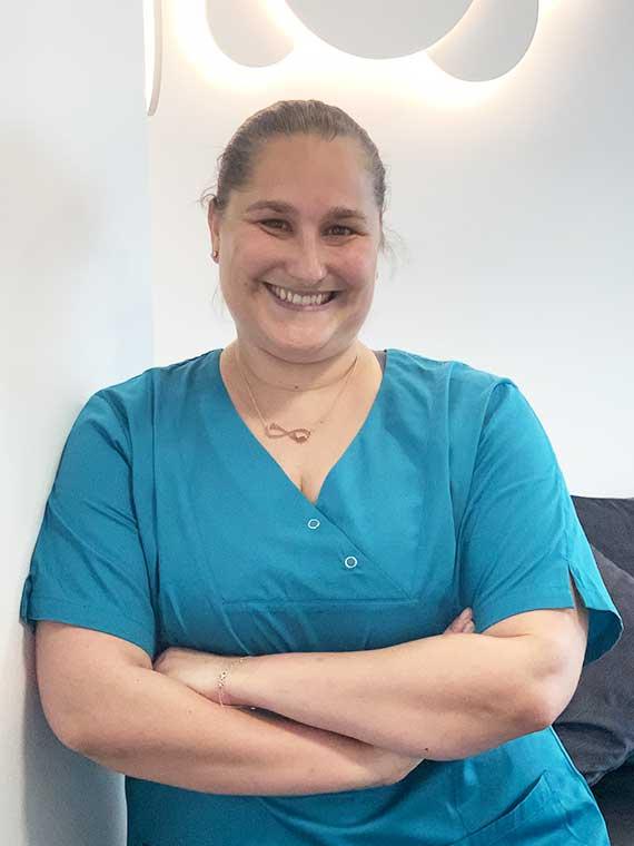 Stefanie Hermann, Medizinische Fachangestellte in der Praxis Dr. Mollemeyer & Kollegen