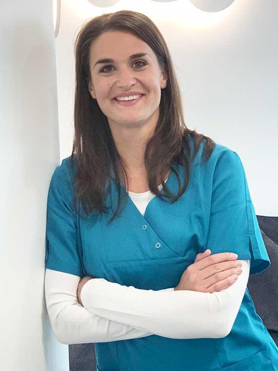 Tabitha Triebenbacher, Medizinische Fachangestellte in der Praxis Dr. Mollemeyer & Kollegen