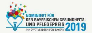 Nominiert für den Bayerischen Gesundheits- und Pflegepreis 2019