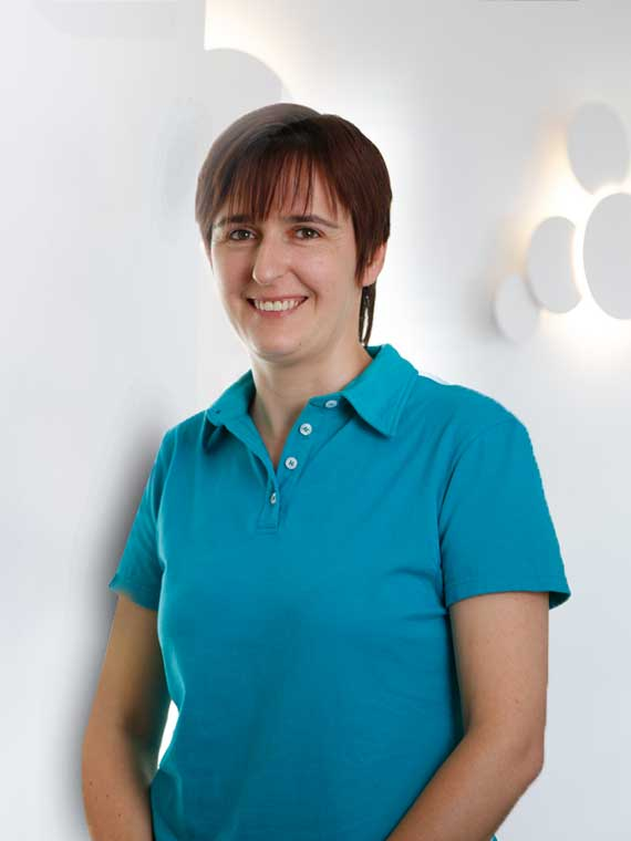 Andrea Vogt, Medizinische Fachangestellte in der Praxis Dr. Mollemeyer & Kollegen