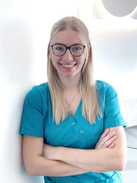 Mareike Wollenhaupt, Medizinische Fachangestellte in der Praxis Dr. Mollemeyer & Kollegen