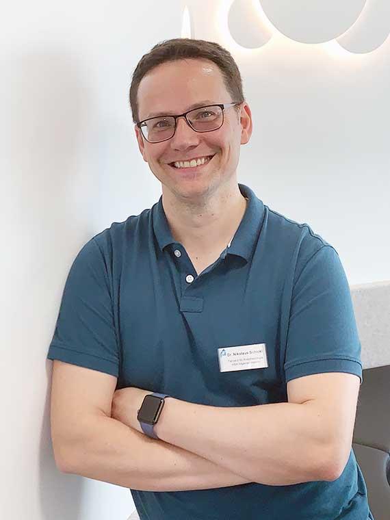 Dr. med. Nikolaus Schickl, Facharzt für Anästhesiologie